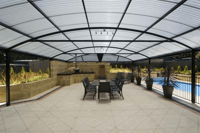indoor-outdoor room