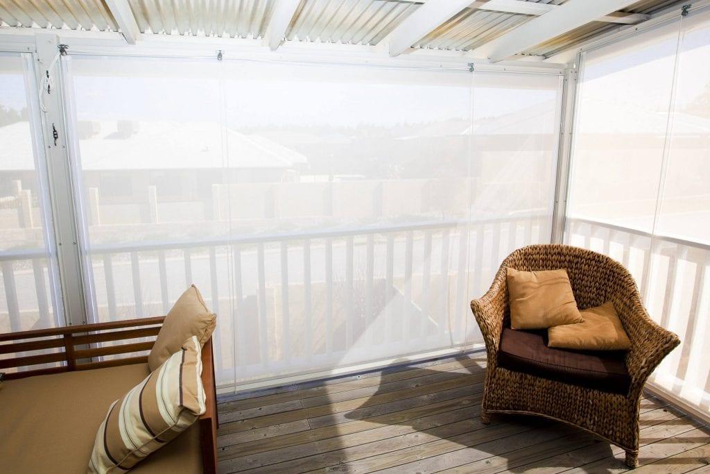 Transparent Cafe Blinds Perth WA