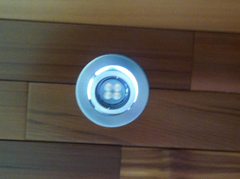 Down Light for outdoor patio lighting