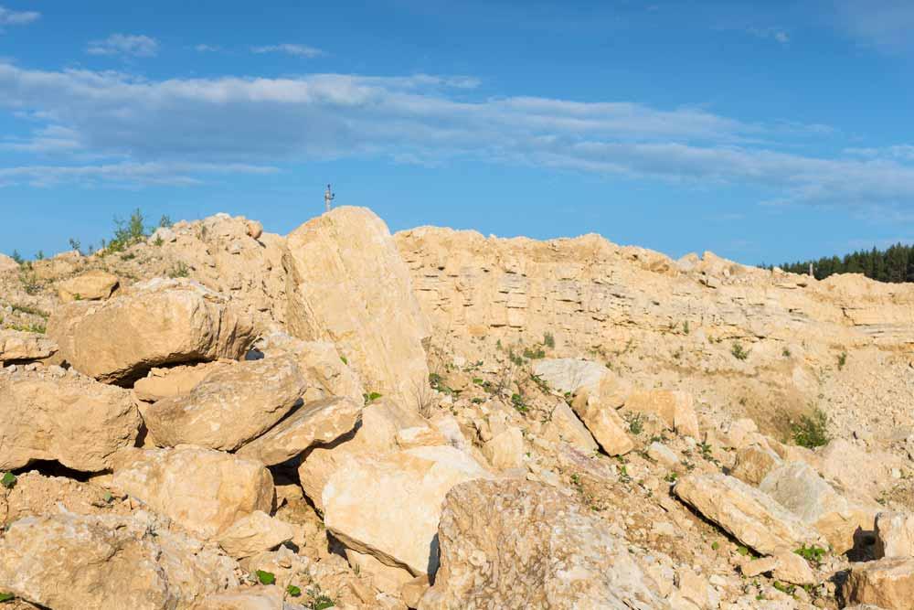 Limestone-rocks