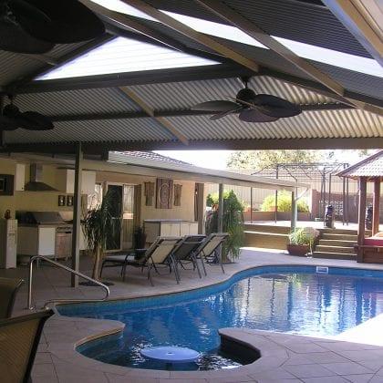 hip pyramid patios Perth