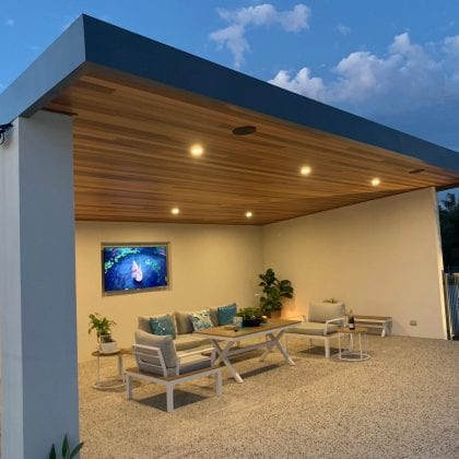 skillion patios Perth