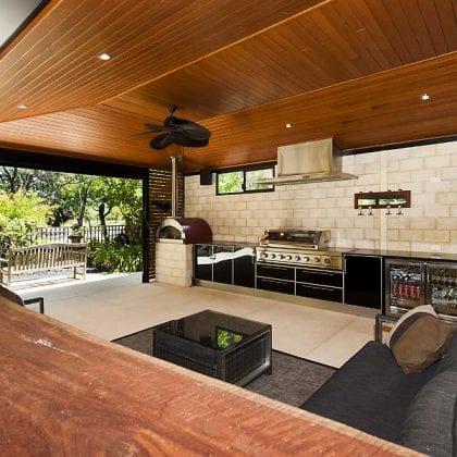 timber lining patios Perth