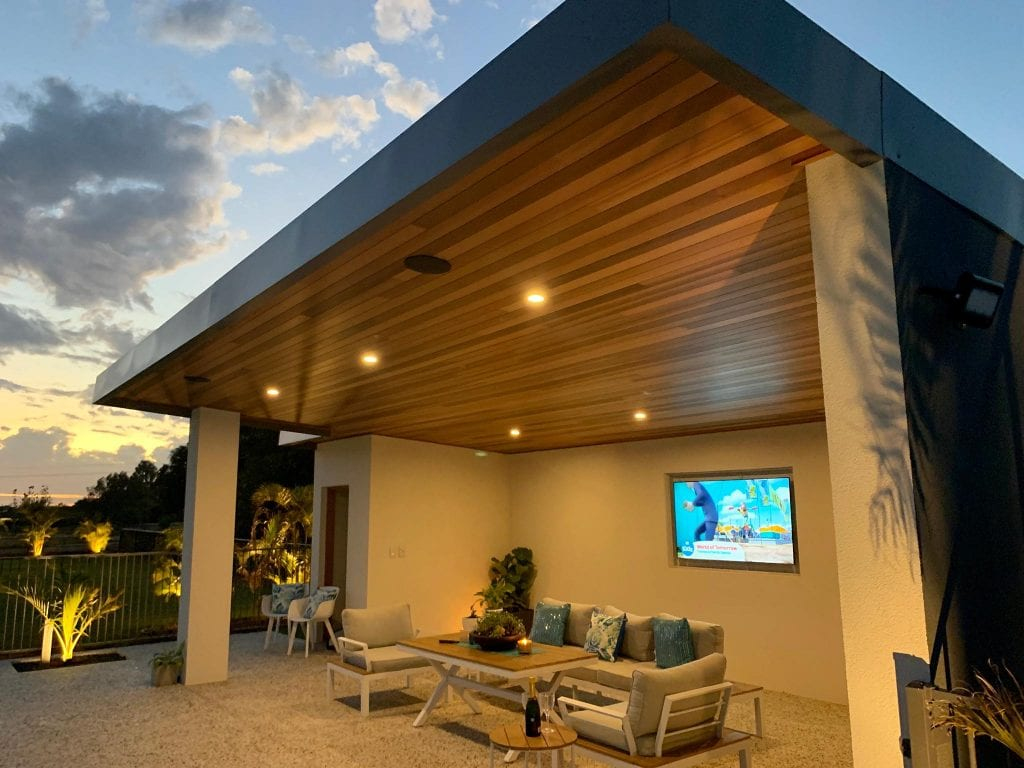 timber lining patio perth