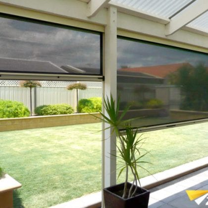 cafe blinds patios Perth